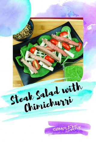 Steak Salad with Chimichurri