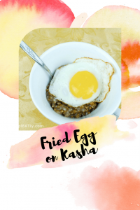 Fried Egg on Kasha