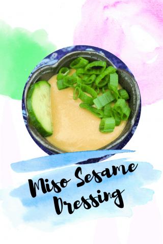 Miso Sesame Dressing