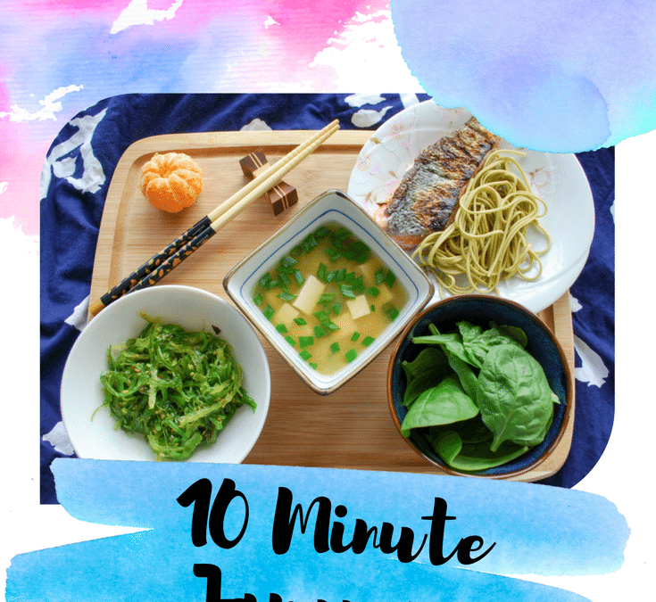 10 Minute Japanese Breakfast