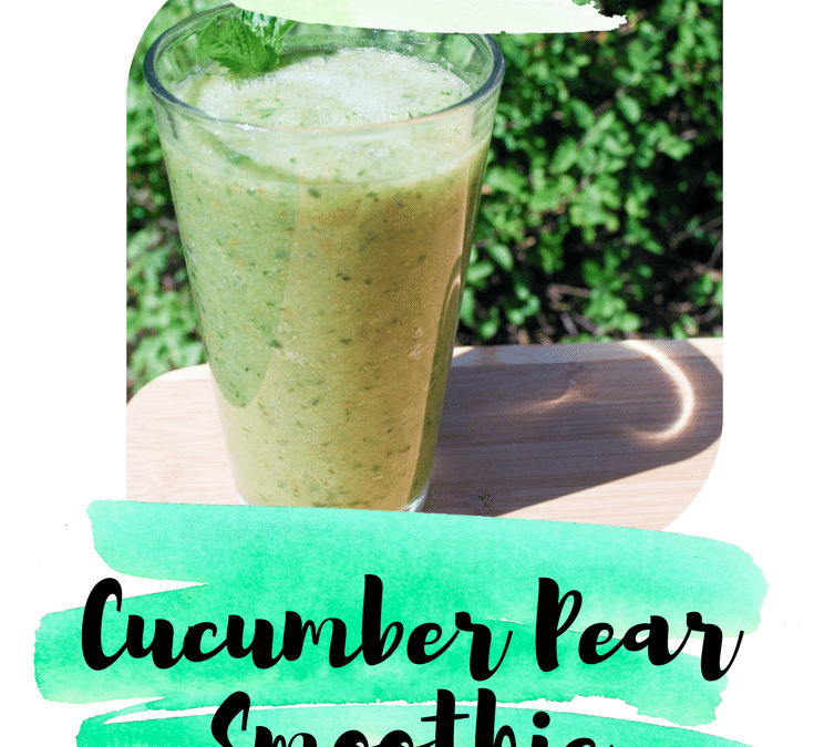 Cucumber Pear Smoothie