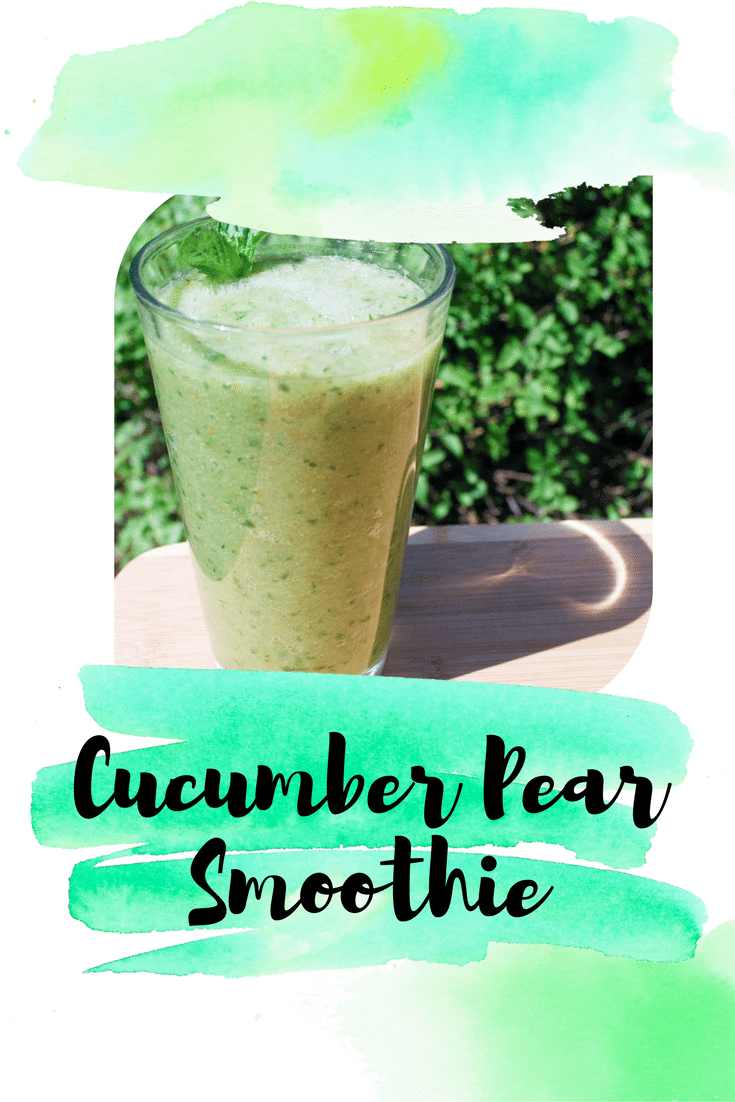 Cucumber Pear Smoothie