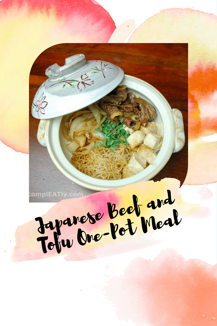 Japanese Beef and Tofu One-Pot Meal