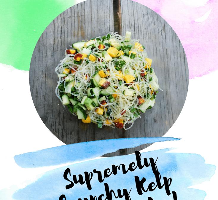 Supremely Crunchy Kelp Noodle Salad