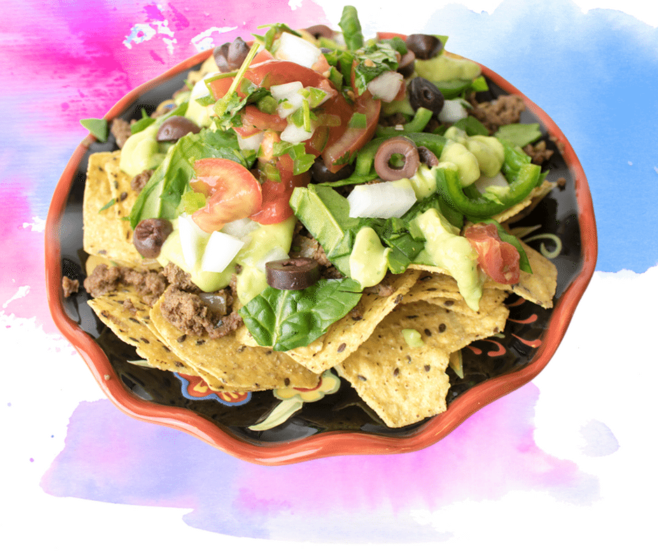 Fully Loaded Dairy-Free Nachos