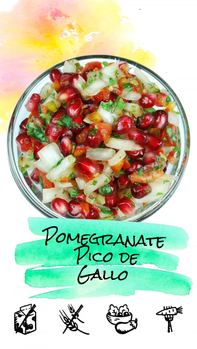 Pomegranate Pico De Gallo