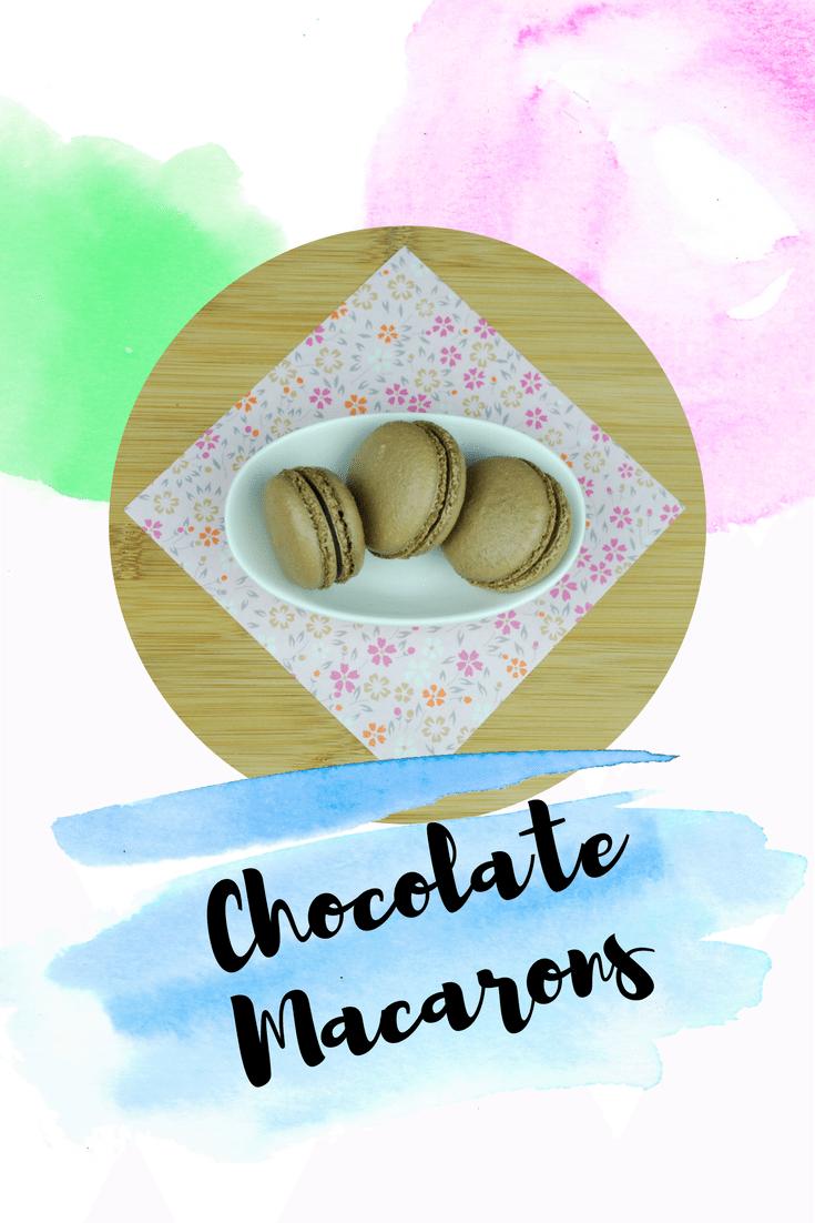 Photo of Chocolate Macarons