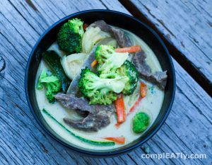 Thai Coconut Green Curry | complEATly Dairy-free